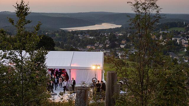 Summer Lounge der Wirtschaft - der Unternehmerabend im Erzgebirgskreis - am 03.09.2021 in Eibenstock.