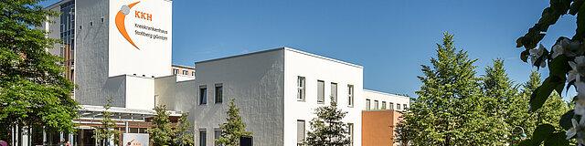 Das Kreiskankenhaus in Stollberg.