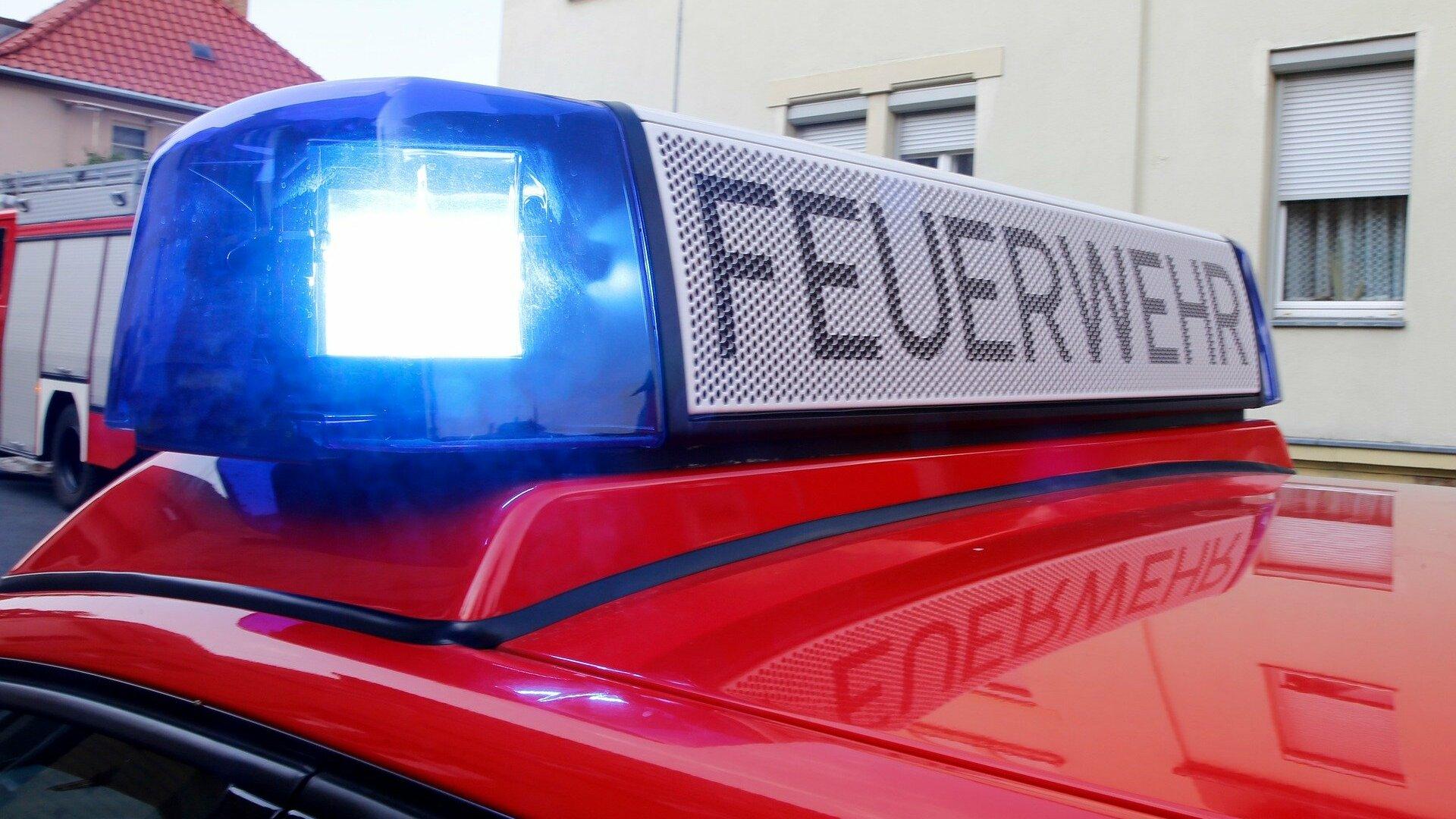 Feuerwehrfahrzeug (Symbolfoto)