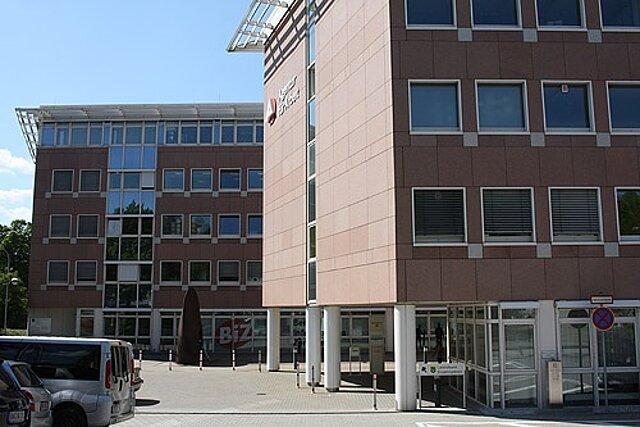 Dienstgebäude Paulus-Jenisius-Straße 43 in Annaberg-Buchholz.