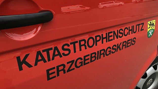 Symbolbild KAtastrophenschutz Erzgebirgskreis.