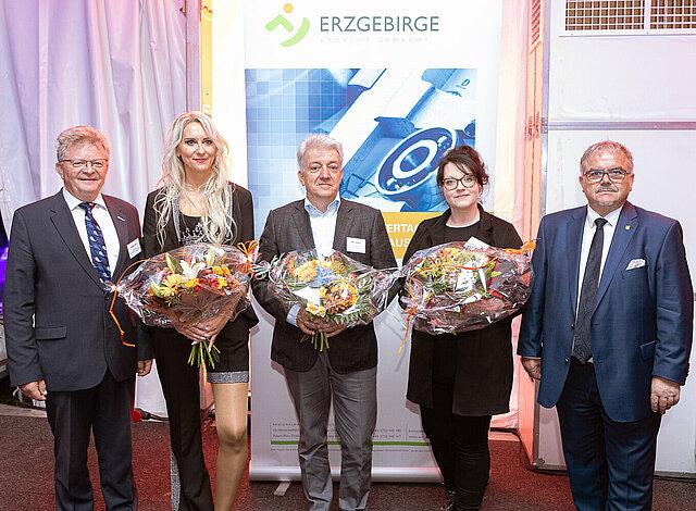 Ernennung der neuen Botschafter des Erzgebirges zur Summer Lounge der Wirtschaft.