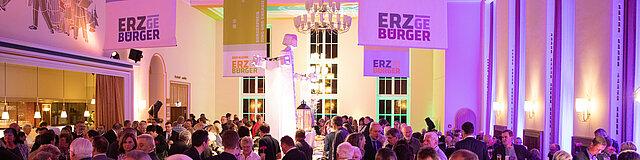 ERZgebürger 2019: Gala-Abend, Foyer Kulturhaus